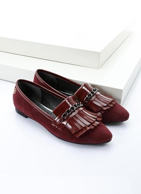 Italian Shoes Ayakkabı Bordo